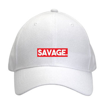 Savage Baseball Hat Cap
