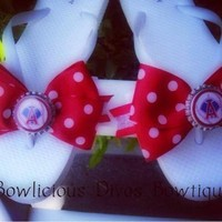 Anaheim Angels sandals from Bowlicious Divas Bowtique