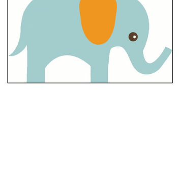 Instant Download, Elephant, Baby Room Decor, Cross Stitch, PDF Pattern, Cross Stitch Pattern