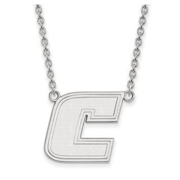 NCAA 14k White Gold U of Tennessee at Chattanooga Lg Pendant Necklace