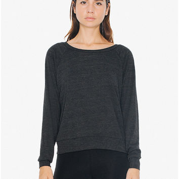 Tri-Blend Lightweight Pullover | American Apparel