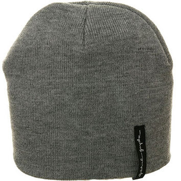 Spiritual Gangster Logo Beanie Heather Grey