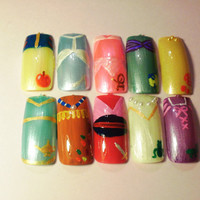 False Nails Disney (choose your characters)