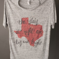 "Gina ""The Stars At Night Are Big & Bright"" Tee"