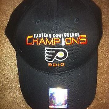PHILADELPHIA FLYERS 2010 EASTERN CONFERENCE CHAMPIONS HAT COLLECTOR'S HAT!