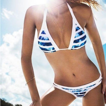 Swimsuit Sexy Hot Summer Beach New Arrival Print Swimwear Bikini [11644091663]