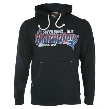 New England Patriots - Super Bowl 49 Champions Fade Logo Slugger Pullover Hoodie