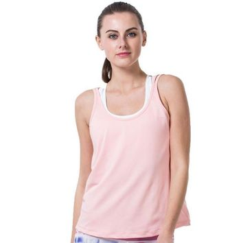 Loose Fit Breathable Fitness Tank Top