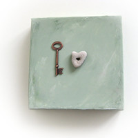 Unique Gift for him - the key to my heart -