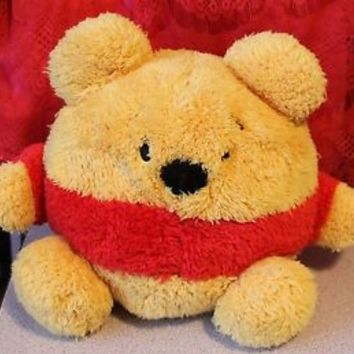 Disney Winnie the Pooh Plush Ball Disneyland Disney World  EUC