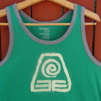 Avatar the Last Airbender Earthbending Symbol Tank Top