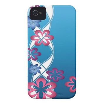 Spring Flowers Case-Mate iPhone 4 Case