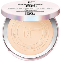 Online Only Your Skin But Better CC+ Airbrush Perfecting Powder Illumination with SPF 50+