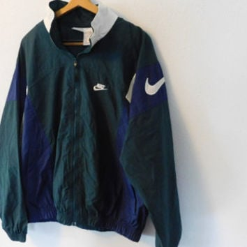 0d98bd0309 Vintage 90 s Nike Windbreaker Jacket from hushpuppiesvintage