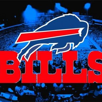 kokoer Diamond Painting Full Square/Round Buffalo Bills football Logo Daimond Painting Mosaic Embroidery Home Decor Gift