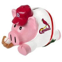 MLB St. Louis Cardinals Action Piggy Bank