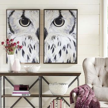 Olsen Owl Wall Art | Grandin Road