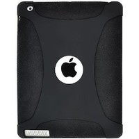 Amzer Silicone Skin Jelly Case for Apple iPad 2 - Black (AMZ90789)