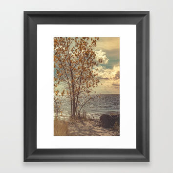 When You Start To Fall Framed Art Print by Faded  Photos