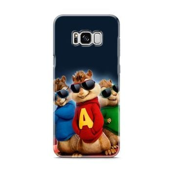 Alvin And The Chipmunks The Road Chip Movies Glasses Hip Hop Samsung Galaxy S8 | Galaxy S8 Plus Case