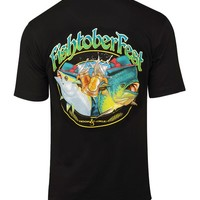 Men's Fishtoberfest S/S Pocket Fishing T-Shirt