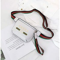 Gucci Women Shopping Fashion Leather Shoulder Bag