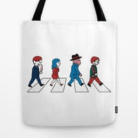 Hannibey Road Tote Bag by Huebucket