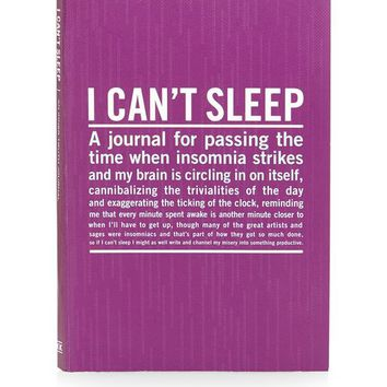 I Can't Sleep Journal - New In This Week - New In