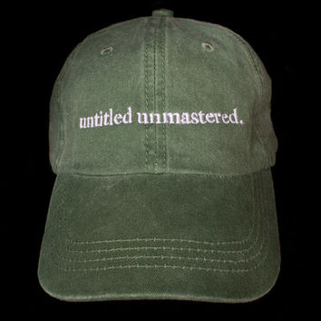 "Kendrick Lamar untitled unmastered hats Top dawg entertainment TDE"" snapback cap I Feel Like Pablo Yeezy caps"