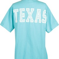 Comfort Colors Collection - Texas Big Time Stripe T-Shirt | University Co-op Online