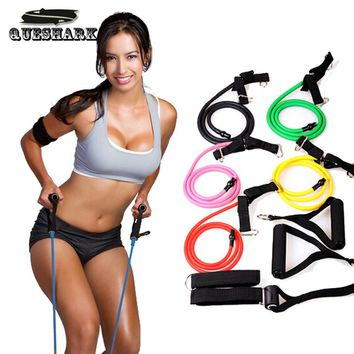 Multifunctional Pull Rope Elastic Rope Crossfit Training Equipment Rubber Band Belt Gym Equipment Yoga Pilates Resistance Rope