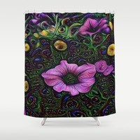 :: Menagerie :: Shower Curtain by :: GaleStorm Artworks ::