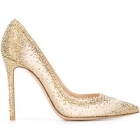 Gianvito Rossi Embellished Pumps - Biondini Paris - Farfetch.com