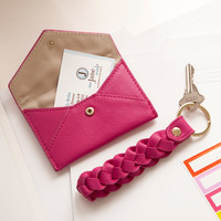 Russell + Hazel Card Holder-Pink