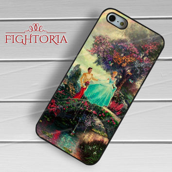 Cinderella Disney Painting Princess Thomas Kinkade - zzZzz for  iPhone 4/4S/5/5S/5C/6/6+s,Samsung S3/S4/S5/S6 Regular/S6 Edge,Samsung Note 3/4