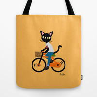 Summer cycling Tote Bag by BATKEI
