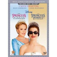 dvd_video Princess Diaries/Princess Diaries 2: Royal Engagement (2 Discs) (DVD/Blu-ray) (Widescreen)