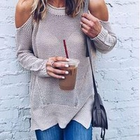 Knit Sweater [22395125786]