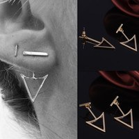 Accessory Vintage Geometric Metal Earring Earrings [4918504132]