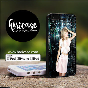 Taylor Swift Glass Singer iPhone 5 | 5S | SE Cases haricase.com