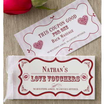 Personalized Create Your Own Romantic Love Coupons - FindGift.com