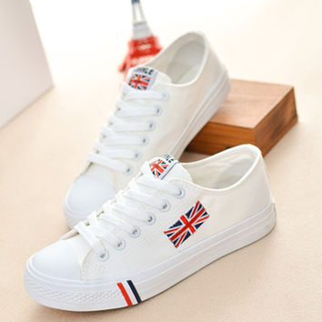 Tennis Canvas Rubber Shoes
