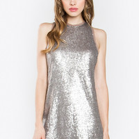 DIXIE SEQUIN DRESS