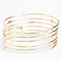 Metal Haven by Kendall & Kylie Star Coil Bracelet (Juniors) | Nordstrom