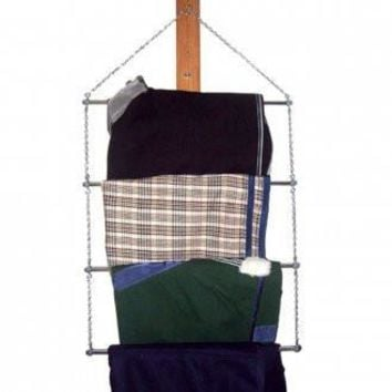 Chrome Blanket Rack