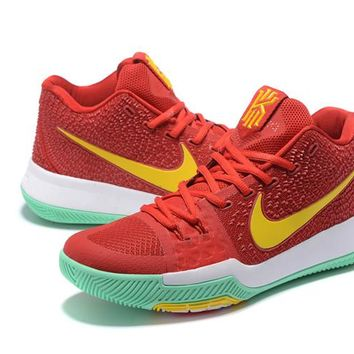 Nike Kyrie Irving 3 Red/Gold Basketball Shoe