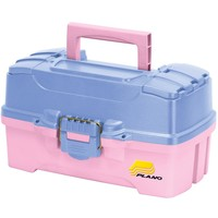 Plano Two-Tray Tackle Box w-Dual Top Access - Periwinkle-Pink [620292]