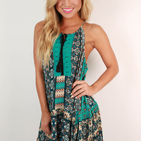 Patio Party Print Dress