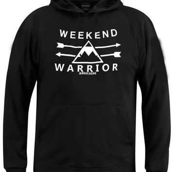 weekend warrior jaw breaking hoodie === size S,M,L,XL,2XL,3XL UNISEX  ===