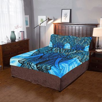 Psychedelic Elephant 3-Pieces Bedding Set